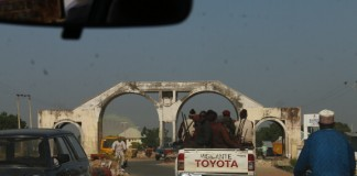 Our entry into Borno through Mubi- one of the towns that was captured by Boko Haram | YNaija.com
